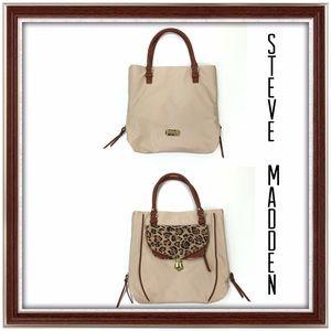 Steve Madden Jaguar Trim Large Shoulder Bag/Tote